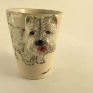 Terrier COFFEE MUG Cup 3D CERAMIC HANDLE